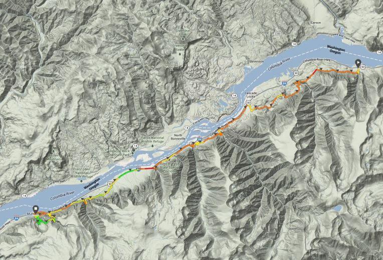 Tt50 - 2014 0329 Gorge Waterfalls 50k