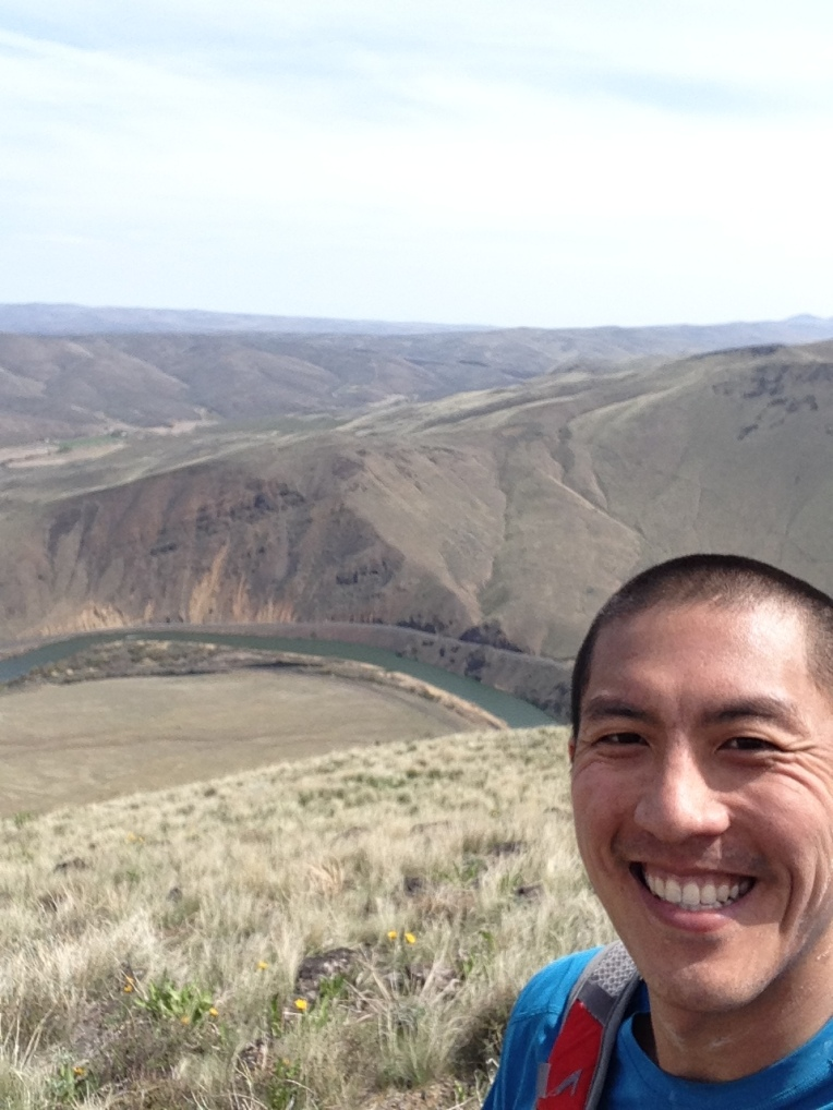 TT50 - 2014 Yakima Skyline 50k - 07 third climb Yakima River