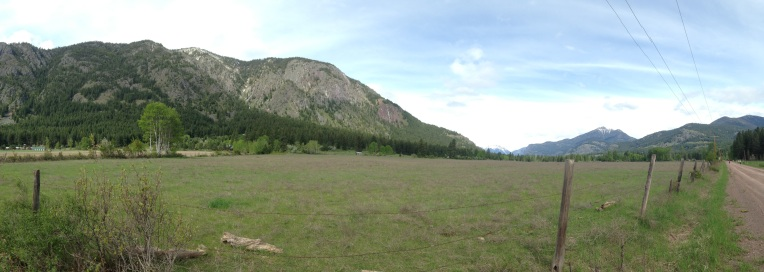The beautiful Methow Valley.