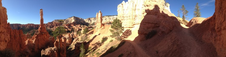 Bryce Canyon National Park along the Peek-A-Boo loop.