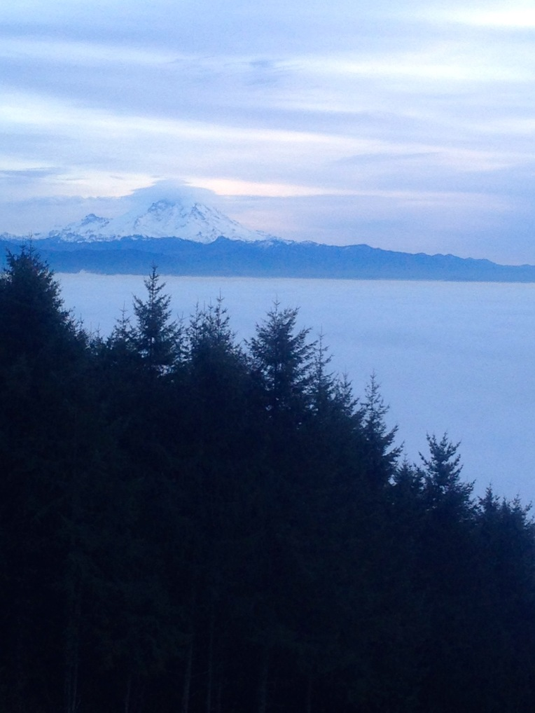 Majestic Mount Rainier.