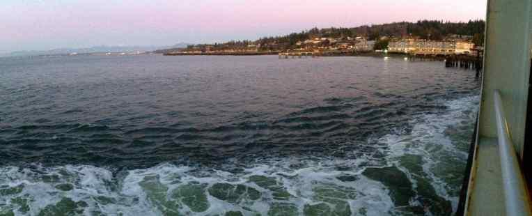 Clinton-Mukilteo ferry ride.