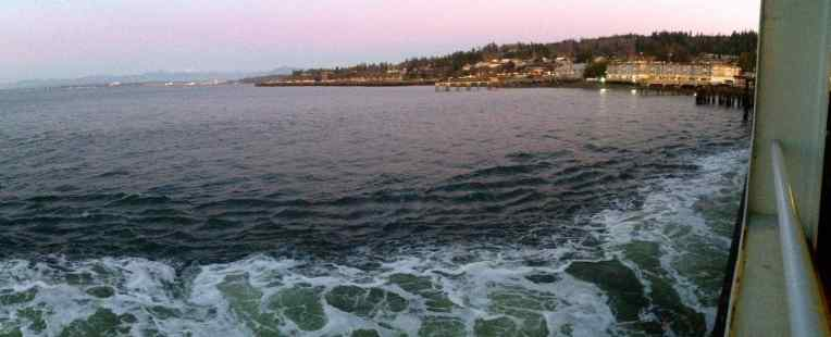 Clinton-Mukilteo ferry ride.