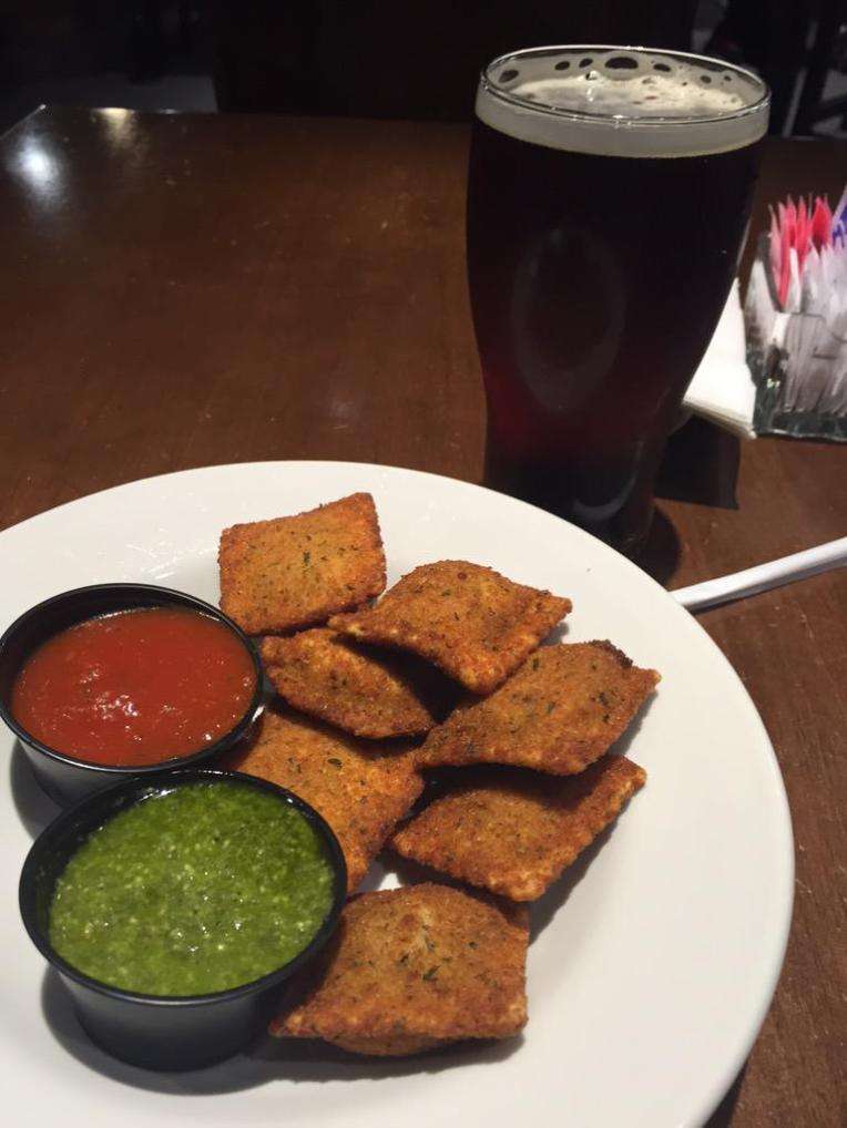 "Dear St Louis, Thank you for inventing toasted ravioli, but is it really ""finger food"" or should it be an actual full out meal?"