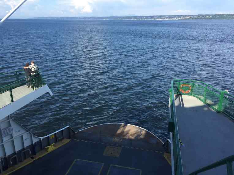 The Walla Walla ferry from Edmonds to Kingston