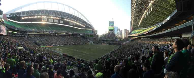 Yes, another Seattle Sounders FC photo.