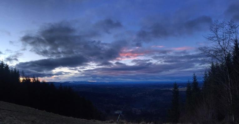 Tiger Mountain Sunrise