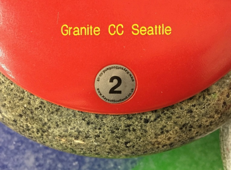 Seattle Granite Curling Club. Sheet 5. Red Rock 2.