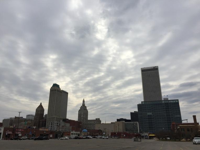 Tulsa, Oklahoma downtown.